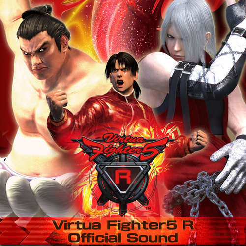 Virtua Fighter5 R Official Soundの画像