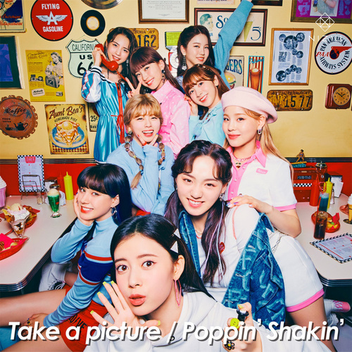 Take a picture/Poppin' Shakin'の画像