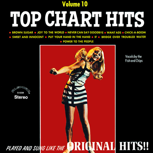 Top Chart Hits, Vol. 10 (2021 Remaster from the Original Alshire Tapes)の画像