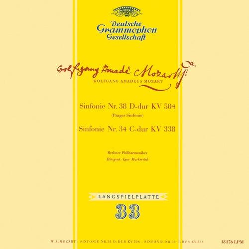 Mozart: Symphony No. 34, K. 338; Symphony No. 38, K. 504 'Prague'; Symphony No. 35, K. 385 'Haffner'; Gluck: Sinfonia in G Major (Igor Markevitch – The Deutsche Grammophon Legacy: Volume 2)の画像