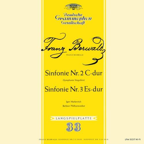 Berwald: Symphony No. 3 'Singulière'; Symphony No. 4; Schubert: Symphony No. 4 'Tragic' (Igor Markevitch – The Deutsche Grammophon Legacy: Volume 17)の画像