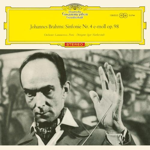 Brahms: Symphony No. 4; Berlioz: Harold en Italie (Igor Markevitch – The Deutsche Grammophon Legacy: Volume 8)の画像