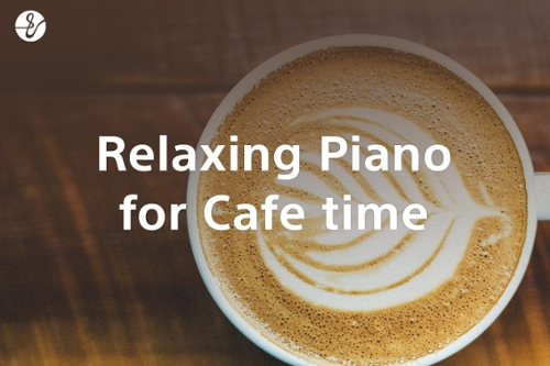 Relaxing Piano Music for Cafe Timeの画像